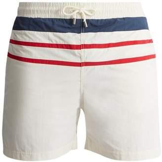 Solid & Striped - The Classic Striped Swim Shorts - Mens - White