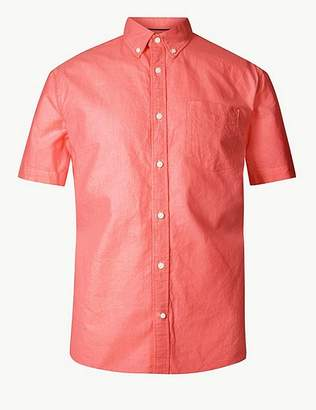 Marks and Spencer Pure Cotton Oxford Shirt