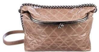Chanel Tabatiere Foldover Kisslock Bag