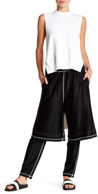 DKNY Runway Double Layer Pant