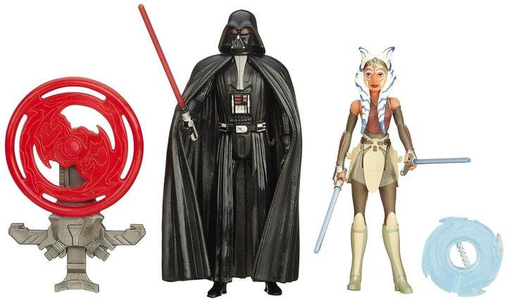 Star Wars Rebels 3.75-Inch Figure 2-Pack (Space Mission Darth Vader & Ahsoka Tano)