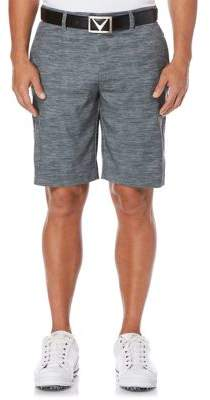 Callaway Big And Tall Big & Tall Opti-Stretch Spaced Dyed Printed Shorts with Active Waistband