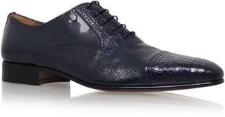 Stemar Toe Cap Croc and Leather Oxford