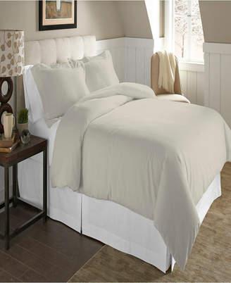 Pointehaven Luxury Size Cotton Flannel Duvet Set King Cal King Bedding