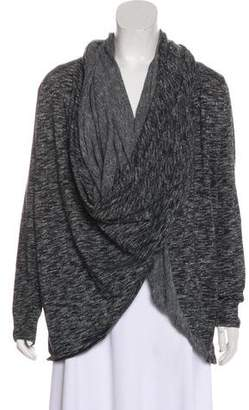 DKNY Knit Wrap Sweater