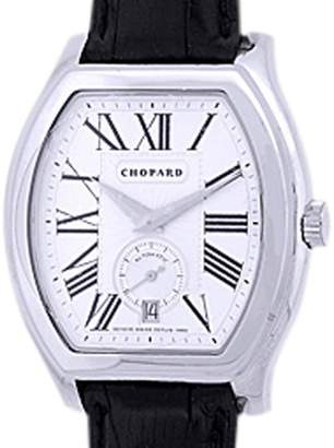 "Chopard "" L.U.C Tonneau"" 18K White Gold Mens Watch"