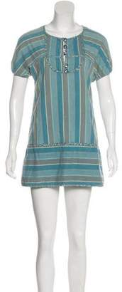 Marc by Marc Jacobs Striped Mini Dress