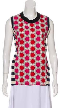 Marni Printed Sleeveless Top