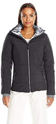 Champion Women's Hooded Technical Ski Jacket $70 thestylecure.com