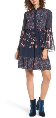 Juicy Couture Caprice Floral Mix Shirtdress