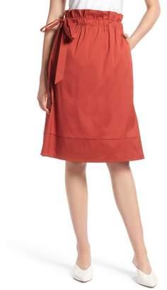 Halogen Side Tie A-Line Skirt (Regular & Petite)