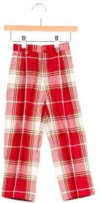 Papo d'Anjo Boys' Wool Plaid Pants