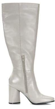 GUESS Chadee Slouch Leather Boots