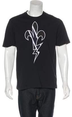 Neil Barrett Woven Graphic T-shirt