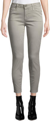 Parker Smith Ava Mid-Rise Cropped Skinny Jeans, Sage