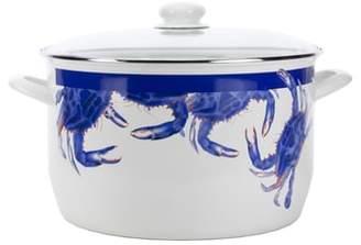 Golden Rabbit Blue Crab 18-Quart Stock Pot