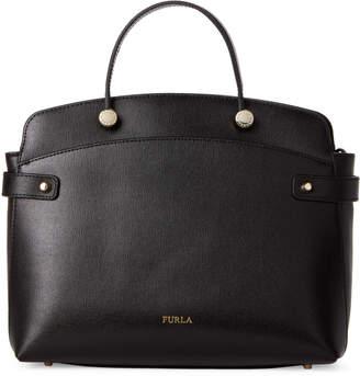 Furla Onyx Agata Medium Leather Tote