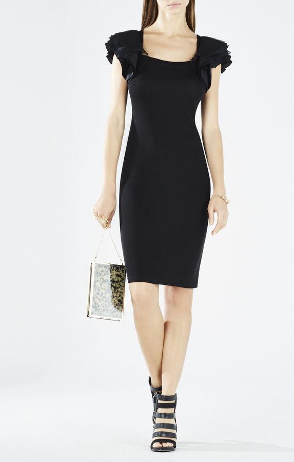 BCBGMAXAZRIACristin Layered-Sleeve Body-Con Dress
