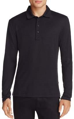 Billy Reid Smith Long Sleeve Polo Shirt