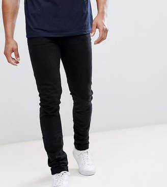 Asos Design Tall Skinny Jeans In Black