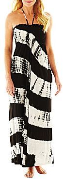Raviya Tie-Dyed Cover-Up Maxi Tube Dress