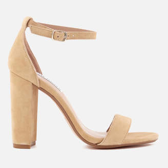 20063bd73a2 Steve Madden Women s Carrson Suede Barely There Heeled Sandals