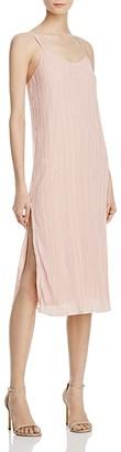 NBD Wynnona Pleated Slip Dress $188 thestylecure.com