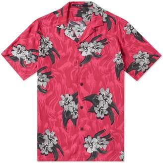 Ksubi Short Sleeve Acid Vacay Vacation Shirt