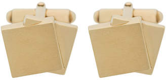 Lanvin stacked square cufflinks