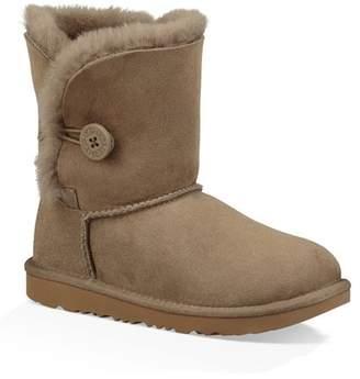 UGG Bailey Button II Genuine Sheepskin Boot (Toddler & Little Kids)