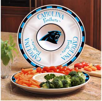 Memory Company Carolina Panthers Ceramic Round Chip & Dip Plate