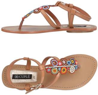 Cuplé Toe strap sandals - Item 11432059