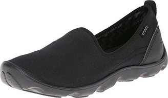 crocs Women's Busy Day Canvas Shoe $30 thestylecure.com