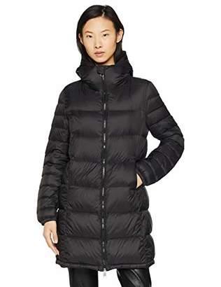 BOSS Women's Orealy Outdoor Gilet, (Black 001), 8 (Size: 34)