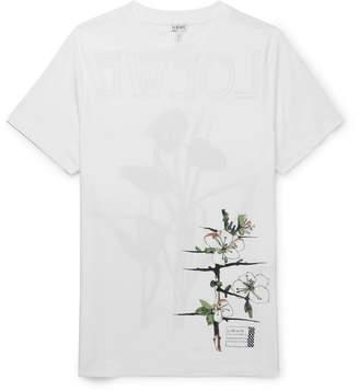 Loewe Slim-Fit Printed Cotton-Jersey T-Shirt