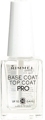 Rimmel London Lasting Finish Professional Nail Polish Base & Top Coat