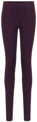 STOULS Carolyn suede skinny pants
