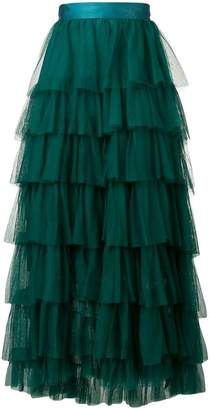 Forte Forte tiered tulle skirt