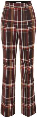Acne Studios High-rise wool flared pants