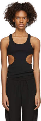 Pihakapi Black Side Cut-Out Tank Top