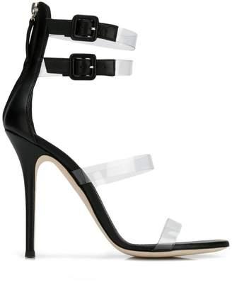Giuseppe Zanotti transparent straps sandals