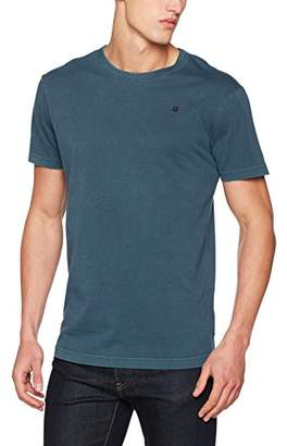 G Star Men's Rc Bonded Relaxed R T S/s T-Shirt, (Legion Blue 862), X