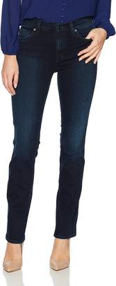 7 For All Mankind Women's Dylan Straight Leg Jean Pants,