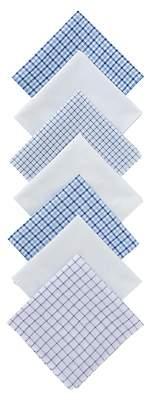 John Lewis & Partners Designer Handkerchiefs, Pack of 7, Multi