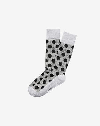 Express Dotted Dress Socks
