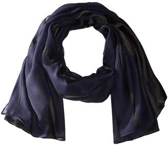 Collection XIIX Sheer Stripes Wrap Scarves