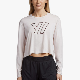 James Perse Y/OSEMITE TECH JERSEY CROPPED TEE