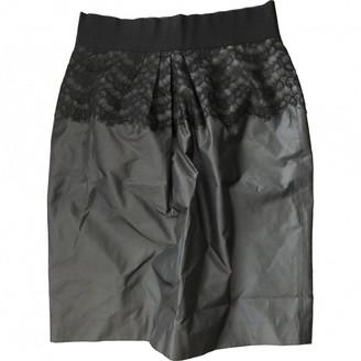 Georges Rech Grey Silk Skirt for Women