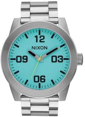 Nixon Men's Corporal Bracelet Watch $175 thestylecure.com