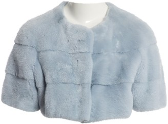 Lilly E Violetta Blue Mink Jackets